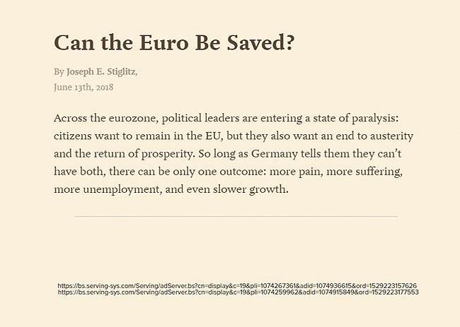 آیا نجات یورو ممکن است؟