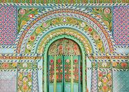 مسجدی با معماری هندی