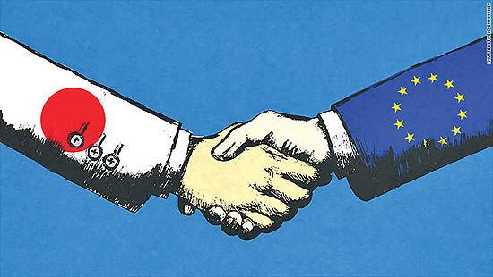 اتحاد اقتصادی ژاپن و اروپا