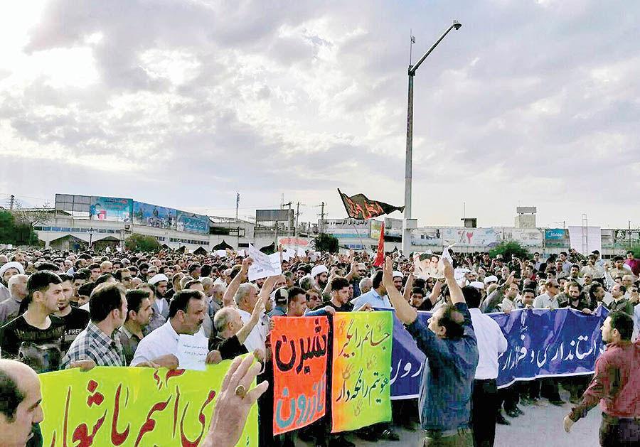 اعتراض خونبار به دوپارهسازی کازرون