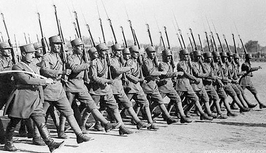 اعلام ترکیب نیروهای قزاق لشکر شمال غرب