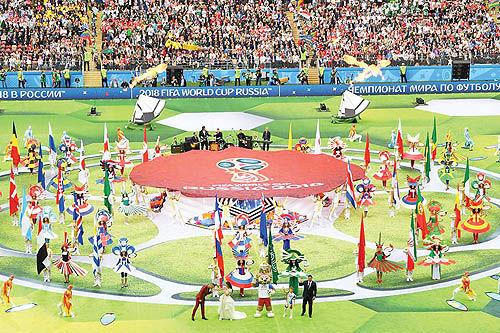 جام جهانی متفاوت و هیجان انگیز در روسیه