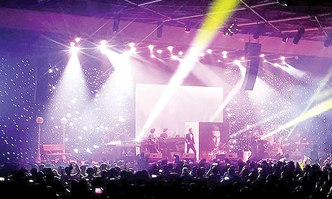 آخرین کنسرتها پیش از وقفه دو ماهه