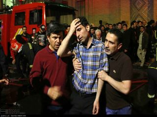 آتش سوزی بازار تبریز