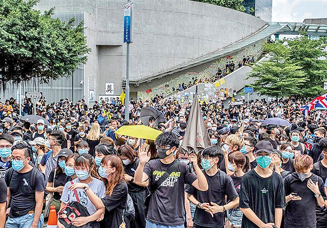 رکود در هنگکنگ
