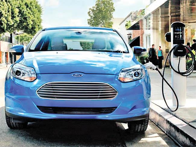 گام جدید فورد برای تولید خودروهای برقی