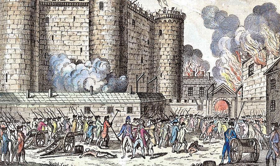 فتح زندان باستیل