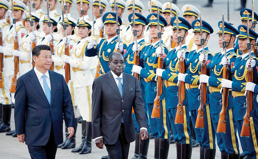 نگاه موگابه به شرق