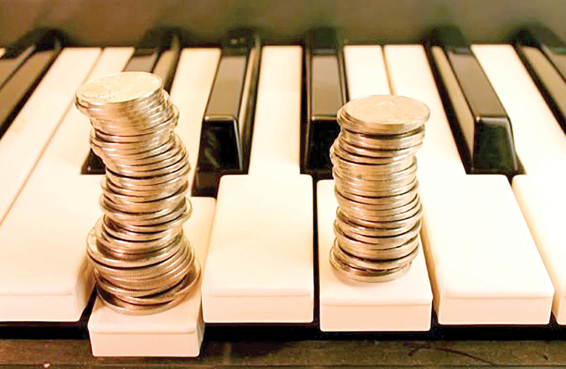کوک بازار موسیقی در دست اسپانسرها