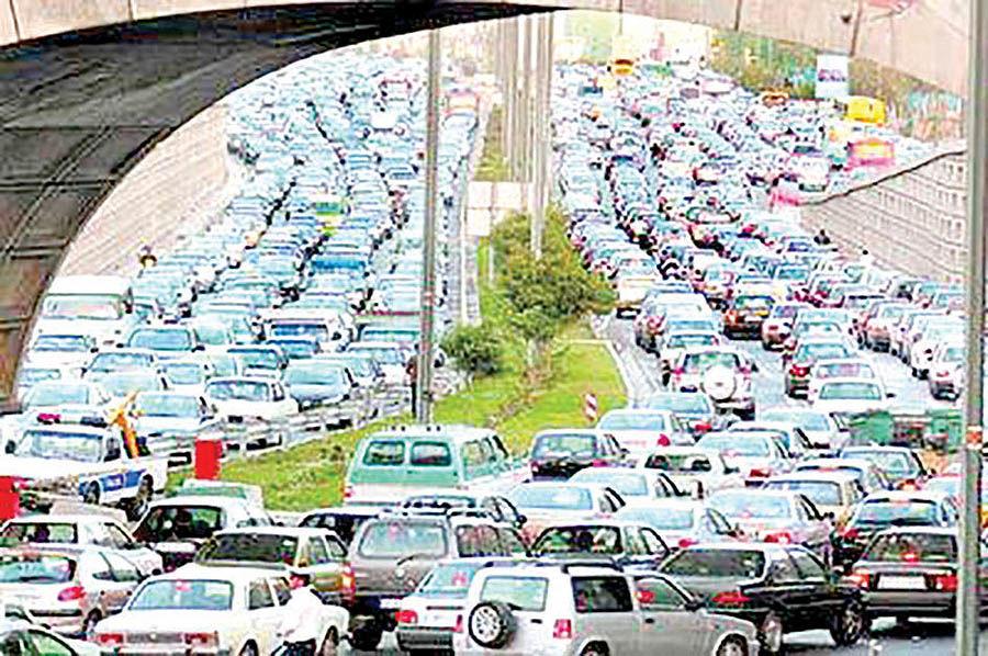 آزمون ترافیکی در سال 97