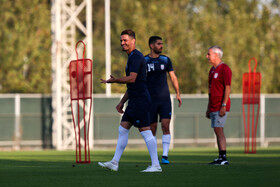 نخستین تمرین تیم ملی فوتبال ایران