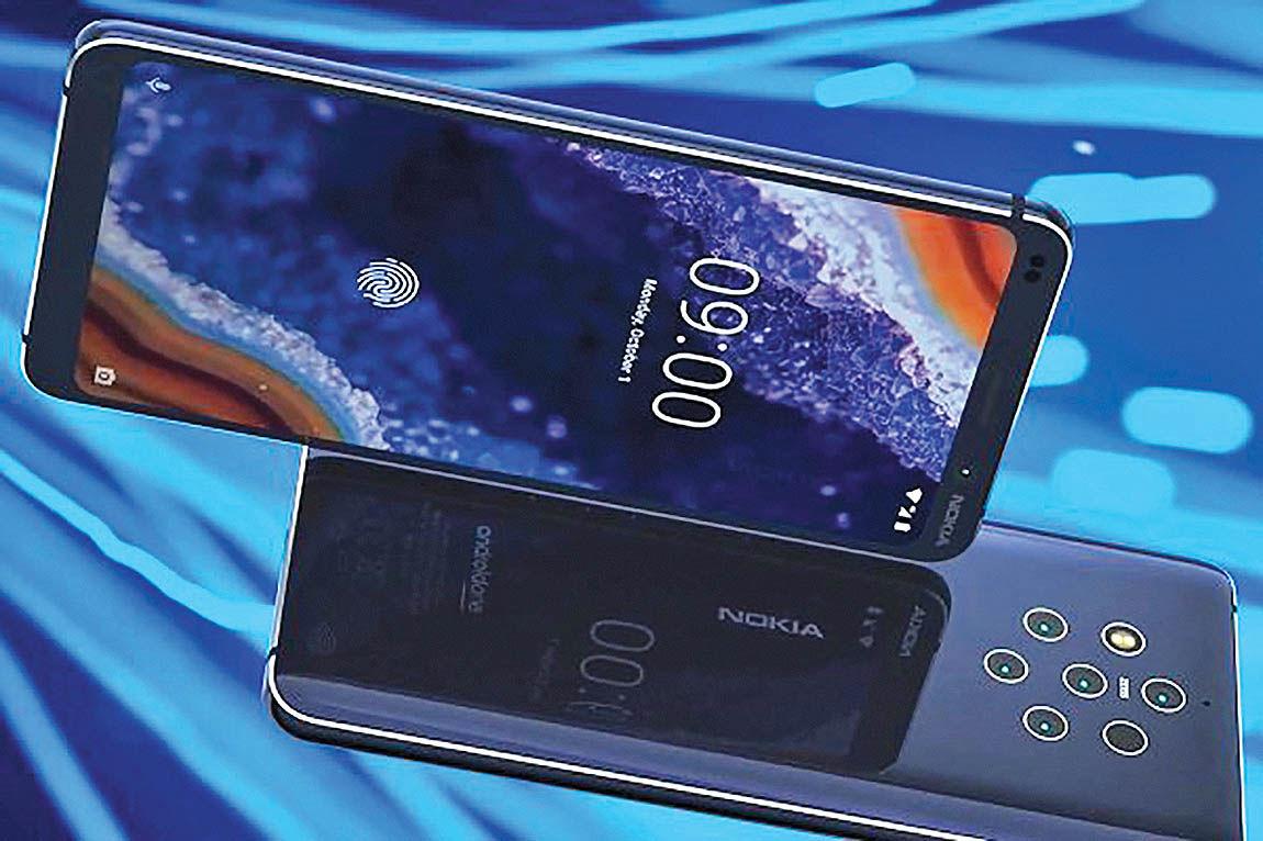 عرضه گوشی جدید نوکیا با 5 دوربین