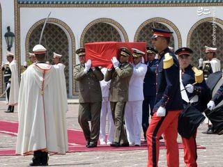 تشییع جنازه رئیس جمهور سابق تونس