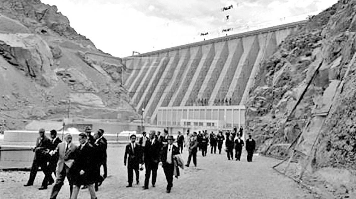 بهرهبرداری از نخستین سد در ایران