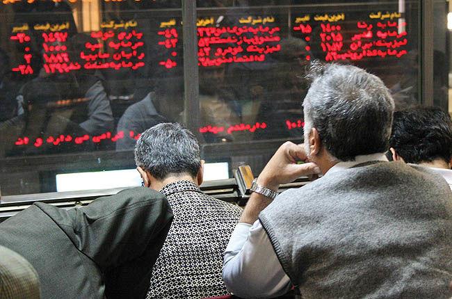 تخلیه رشد زمستانی در بورس تهران