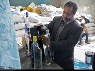 کشف محموله قاچاق کالا و مشروبات الکلی در مشهد