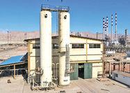 راهاندازی واحد تولید گاز ازت  پالایشگاه بندرعباس
