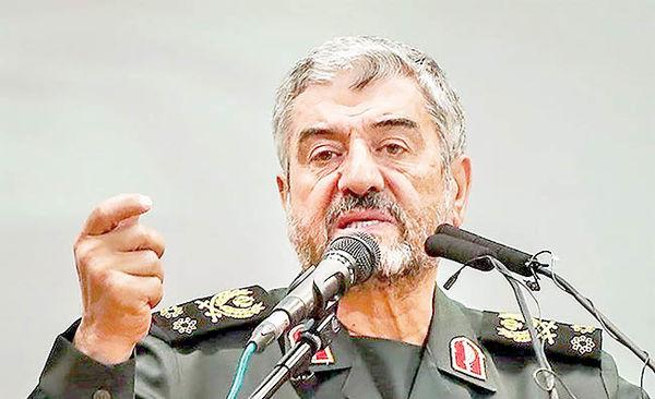 موضع فرمانده سپاه درباره مذاکره با آمریکا