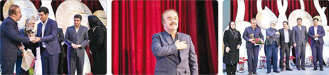 تقدیر از خواننده مطرح کُرد در جشنواره دف