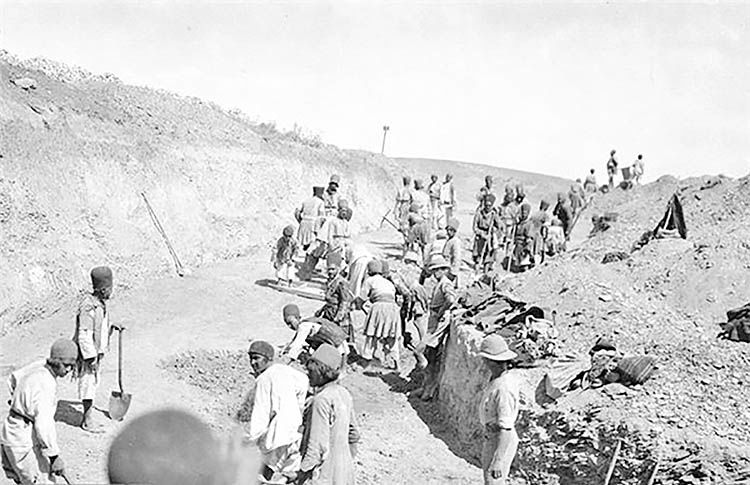 انگلیسیهای قحطیآور در جنگ جهانی اول