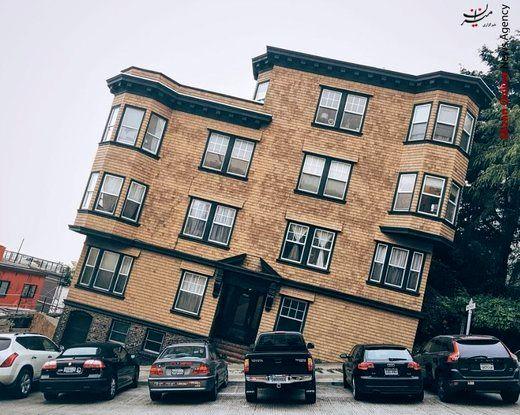 خانههای عجیب در سانفرانسیسکو/تصاویر