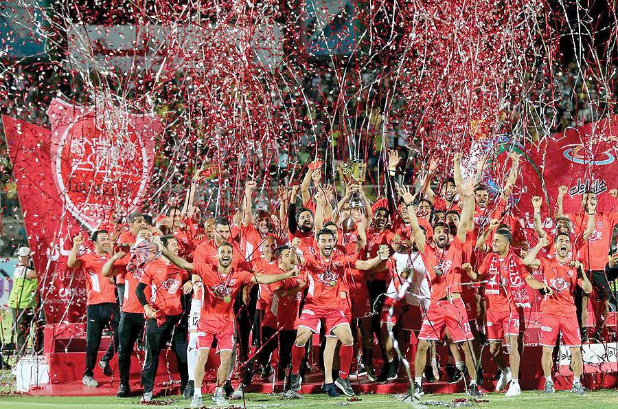 هتتریک سرخ در قهرمانی لیگ