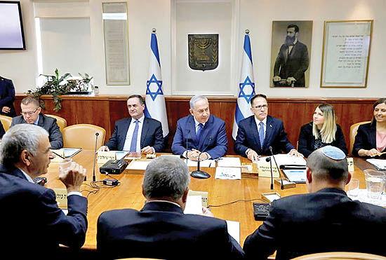 کارت سوخته نتانیاهو