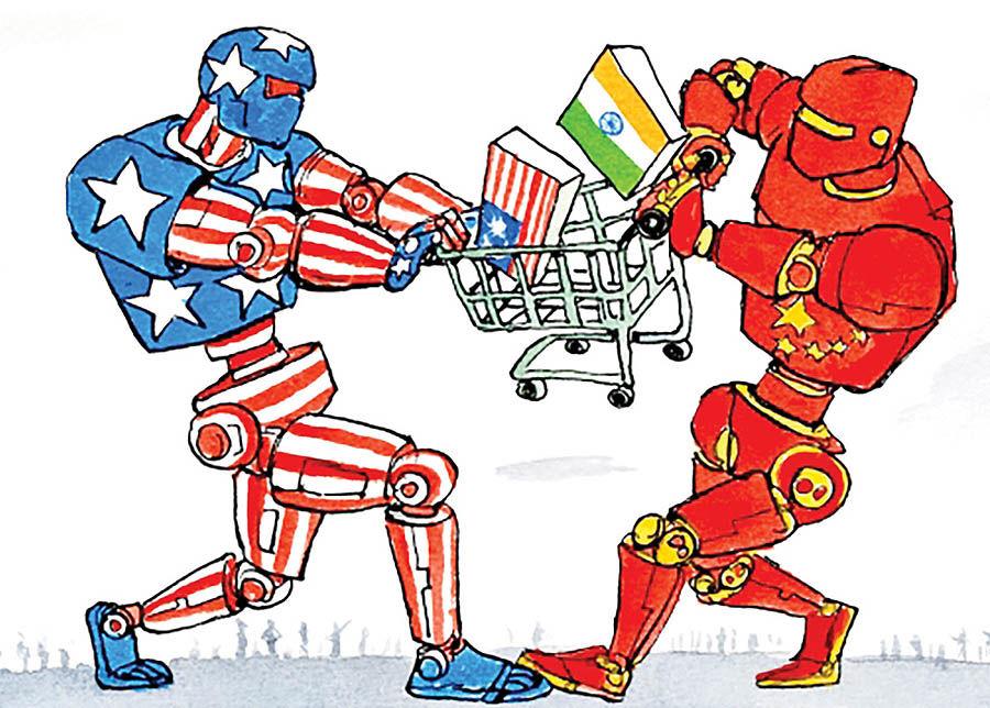 نبرد غولهای تکنولوژی غرب و شرق