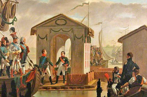 پیمان تیلسیت؛ خیانت ناپلئون به قرارداد فین کناشتاین