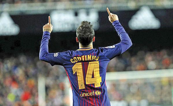کوتینیو بهدنبال کسب اولین جام با بارسا