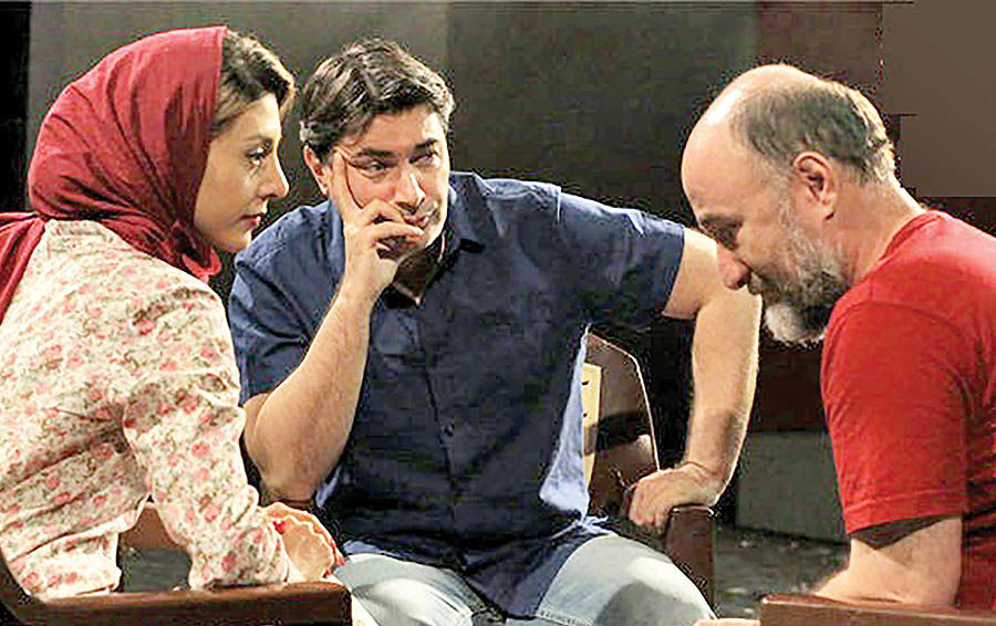 حضور پارسا پیروزفر در نمایش «یک روز تابستانی»