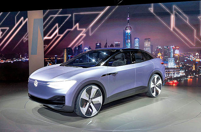 تولید خودروهای برقی فولکس در چین