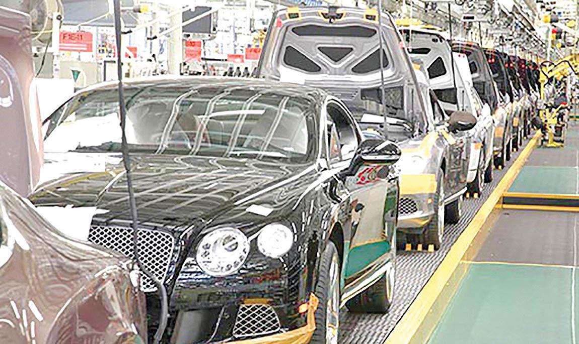 تداوم کاهش تولید خودرو در بریتانیا