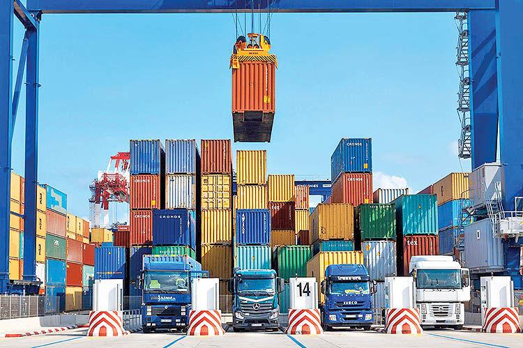 تجارت خارجی در نیمسال اول