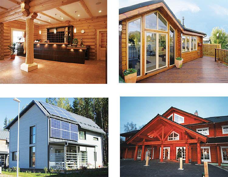 تعریفی جدید از خانههای چوبی