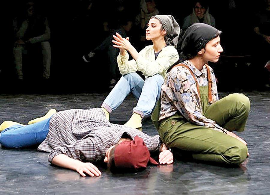 اجرای «پرتی» در تئاتر شهر