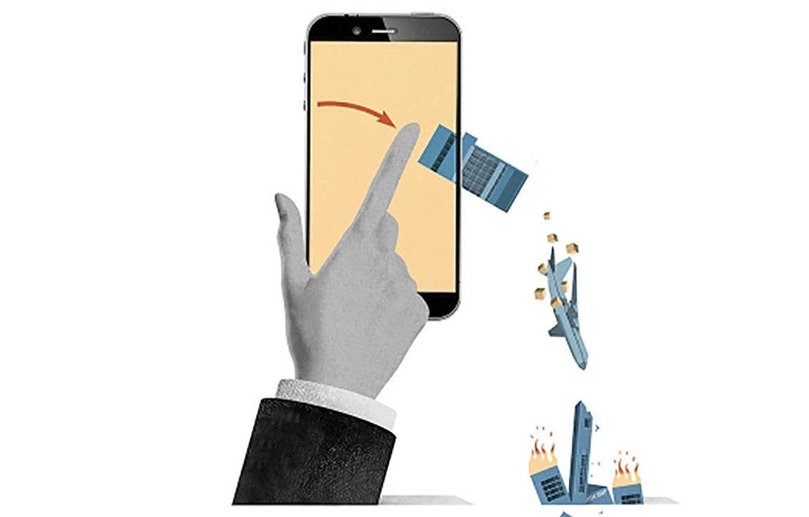 دنیای رو به افول موبایلهای هوشمند