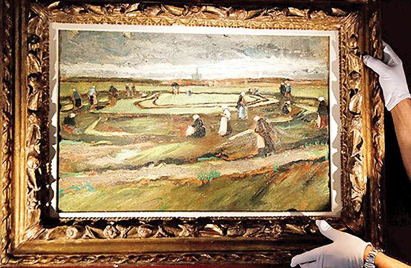 حراج ۸ میلیون دلاری نقاشی ونگوگ