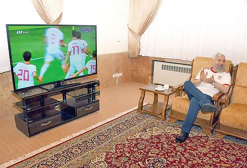 پیام تبریک روحانی به تیم ملی فوتبال ایران