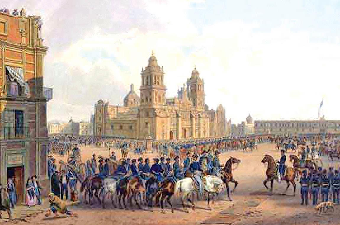 شکست مکزیک از استعمارگران آمریکا