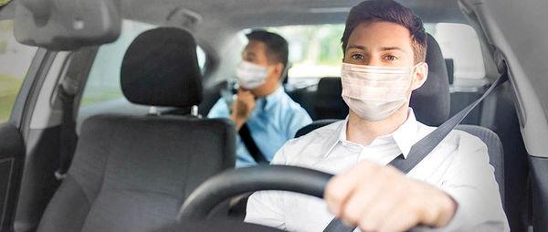 اسنپ: استفاده از ماسک  برای رانندگان اجباری است