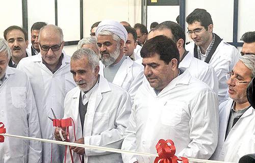 افتتاح فاز اول بزرگترین گلخانه هیدروپونیک کشور در استان مرکزی