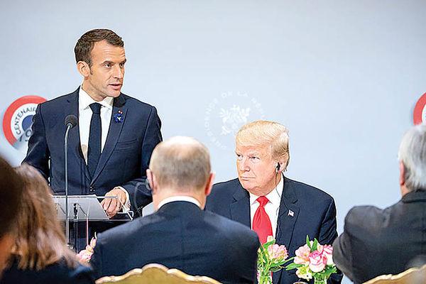 سه هدف دیپلماسی مکرون