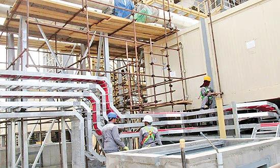 افتتاح بخش گازی نیروگاه هریس