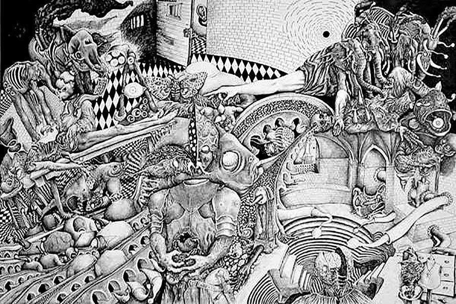 طراحیهای «زیستن درون مرگ» در گالری سیحون