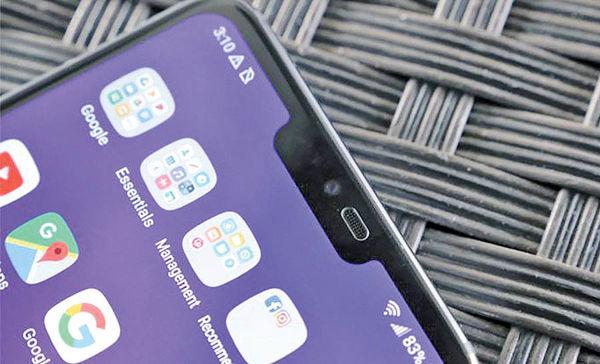 الجی: ما زودتر از اپل بریدگی صفحهنمایش را طراحی کردهایم!