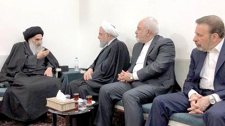 دیدار روحانی با مرد پرنفوذ عراق