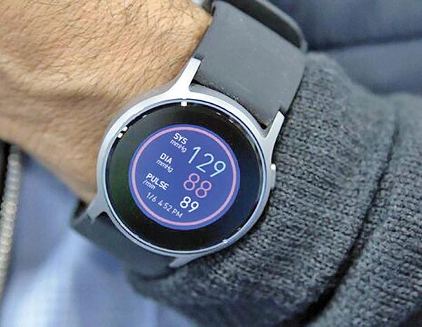 اندازهگیری فشار خون با ساعت مچی