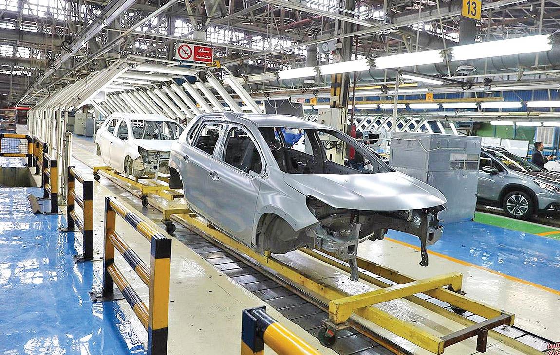 انحراف از هدفگذاری تولید خودرو