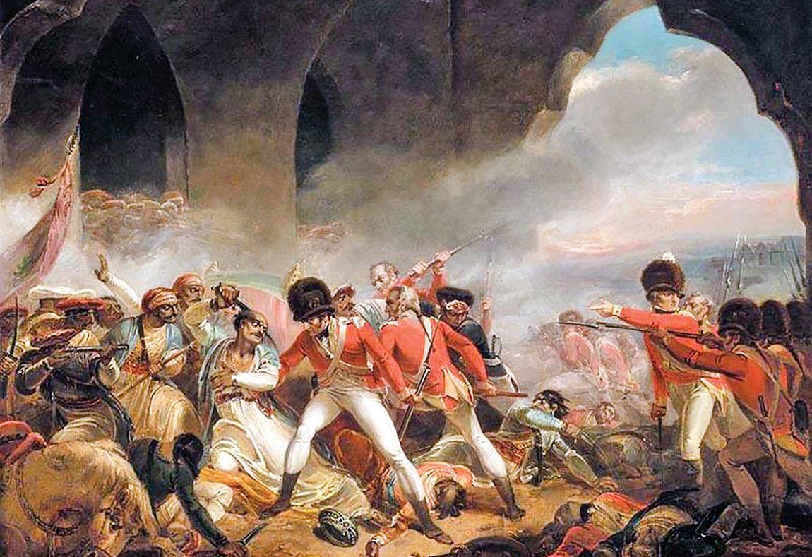 ورود انگلیسیها به هند